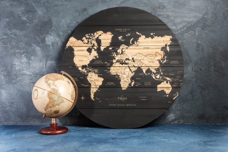 Mapamundi Large Circular 4